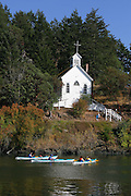 Church, Roche Harbor, San Juan Island, Washington<br />