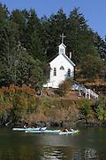 Church, Roche Harbor, San Juan Island, Washington<br />
