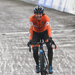 OOSTENDE (BEL) CYCLOCROSS. <br />Lucinda Brand pakt de wereldtitel bij de vrouwen