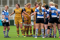 Sasha Acheson of Bristol Ladies - Rogan Thomson/JMP - 08/10/2016 - RUGBY UNION - Kingston Park - Newcastle, England - Darlington Mowden Park Sharks v Bristol Ladies Rugby - RFU Women's Premiership.