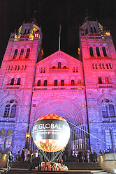 Atmosphere at The Global Party held at The Natural History Museum, Cromwell Road, London on 8th September 2011.
