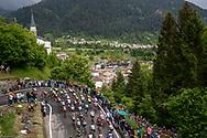 Illustration landscape and peloton during the 101th Tour of Italy, Giro d'Italia 2018, stage 14, San Vito Al Tagliamento - Monte Zoncolan 181 km on May 19, 2018 in Italy - Photo Luca Bettini / BettiniPhoto / ProSportsImages / DPPI