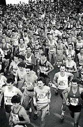 Robin Hood marathon, Nottingham UK 1987