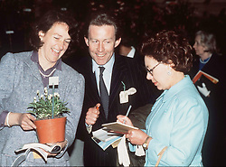 Princess Margaret and Roddy Llewellyn at the 1984 Chelsea Flower Show