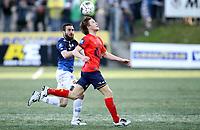 Fotball ,  5. mai 2013 , Tippeligaen , Eliteserien , Strømsgodset - Viking 3-1<br /> Yann-Erik de Lanley , Viking <br /> Mounir Hamoud , SIF