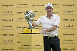 March 24, 2019 - Kuala Lumpur, Malaysia - Scott Hend of Australia wins the Maybank Championship 2019 at Saujana Golf and Country Club on March 24, 2019 in Kuala Lumpur, Malaysia. (Credit Image: © Chris Jung/NurPhoto via ZUMA Press)
