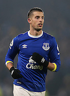 Kevin Mirallas of Everton during the English Premier League match at the KCOM Stadium, Kingston Upon Hull. Picture date: December 30th, 2016. Pic Simon Bellis/Sportimage