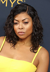 Taraji P. Henson arriving for The 68th Emmy Awards at the Microsoft Theater, LA Live, Los Angeles, 18th September 2016.