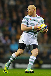 during the first half of the match - Photo mandatory by-line: Rogan Thomson/JMP - Tel: Mobile: 07966 386802 29/12/2012 - SPORT - RUGBY - Twickenham Stadium - London. Harlequins v London Irish - Aviva Premiership - LV= Big Game 5.