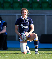 Rugby Union - 2021 Women's Six Name - Third Place Final - Scotland vs Wales - Scotstoun Stadium<br /> <br /> Helen Nelson of Scotland converts a conversion<br /> <br /> Credit: COLORSPORT/BRUCE WHITE