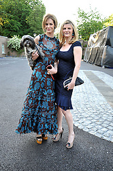 Left to right, TRINNY WOODALL with her pet dog and SUSANNAH CONSTANTINE at the annual Dog's Trust Honours Awards held at The Hurlingham Club, Fulham, London on 19th May 2009.