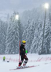 21.12.2011, Hermann Maier Weltcup Strecke, Flachau, AUT, FIS Weltcup Ski Alpin, Herren, Slalom Streckenbesichtigung, im Bild Marcel Hirscher (AUT) // Marcel Hirscher of Austria during Course inspection before Salom race 1st run of FIS Ski Alpine World Cup at 'Hermann Maier World Cup' course in Flachau, Austria on 2011/12/21. EXPA Pictures © 2011, PhotoCredit: EXPA/ Johann Groder