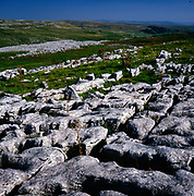 AJEM6A Limestone pavement Yorkshire Dales national park England