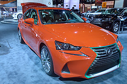 09 February 2017: Lexus Sirachi<br /> <br /> First staged in 1901, the Chicago Auto Show is the largest auto show in North America and has been held more times than any other auto exposition on the continent.  It has been  presented by the Chicago Automobile Trade Association (CATA) since 1935.  It is held at McCormick Place, Chicago Illinois<br /> #CAS17<br /> <br /> This image is an HDR (High Dynamic Range) composite.