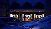 A Black Friday Christmas shopper enters the Macys store in Fairview Heights around 6:30 a.m. on Friday November 27, 2020. <br /> Photo by Tim Vizer