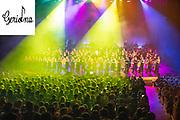 Fotografia del Concert de Nadal del Cor Geriona a l'auditori de Girona.