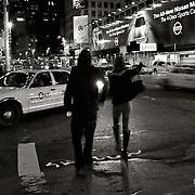 Getting around Midtown Manhattan at night