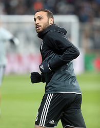 November 21, 2017 - Besiktas'  Cenk Tosun during Besiktas - Porto UEFA Champions Leaguematch in Vodafone Arena, Istanbul, Turkey, November 21, 2017 (Credit Image: © Tolga Adanal/Depo Photos via ZUMA Wire)