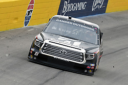 March 1, 2019 - Las Vegas, NV, U.S. - LAS VEGAS, NV - MARCH 01: Kyle Busch (51) Kyle Busch Motorsports (KBM) Toyota Tundra drives off of turn two during qualifying for NASCAR Gander Outdoors Truck Series The Strat 200 on March 1, 2019, at Las Vegas Motor Speedway in Las Vegas, Nevada. (Photo by Michael Allio/Icon Sportswire) (Credit Image: © Michael Allio/Icon SMI via ZUMA Press)