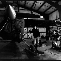 Drake Olson, Skiplane pilot, Haines, Alaska.