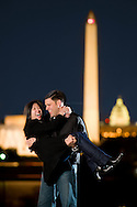 Jessica Wang & Matt Memoli, photographed both at Great Falls and on the grounds of the Iwo Jima Memorial, March 21, 2009.