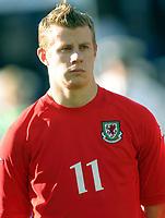 Fotball<br /> Privatlandskamp<br /> Norge v Wales 0-0<br /> Ullevaal Stadion<br /> 27.05.2004<br /> Foto: Morten Olsen, Digitalsport<br /> <br /> Paul Parry - Cardiff