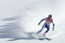 12-02-2006 SKIEN: AFDALING: OLYMPISCHE WINTERSPELEN: TORINO<br /> Antoine Deneriaz FRA wint de afdaling <br /> ©2006-WWW.FOTOHOOGENDOORN.NL