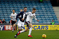 David Brooks of Sheffield United (R) in action. EFL Skybet championship match, Millwall v Sheffield Utd at The Den in London on Saturday 2nd December 2017.<br /> pic by Steffan Bowen, Andrew Orchard sports photography.