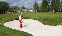 HAVELTE - Green van Hole 18 met op de achtergrond het clubhuis van Golf Club Havelte. COPYRIGHT KOEN SUYK
