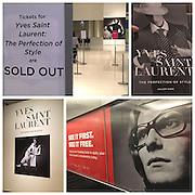 YSL exhibit ~ The Perfection of Style 1-8-2017