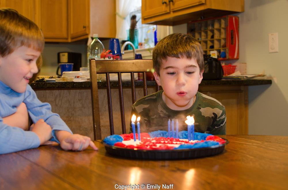 Jackson is nine!