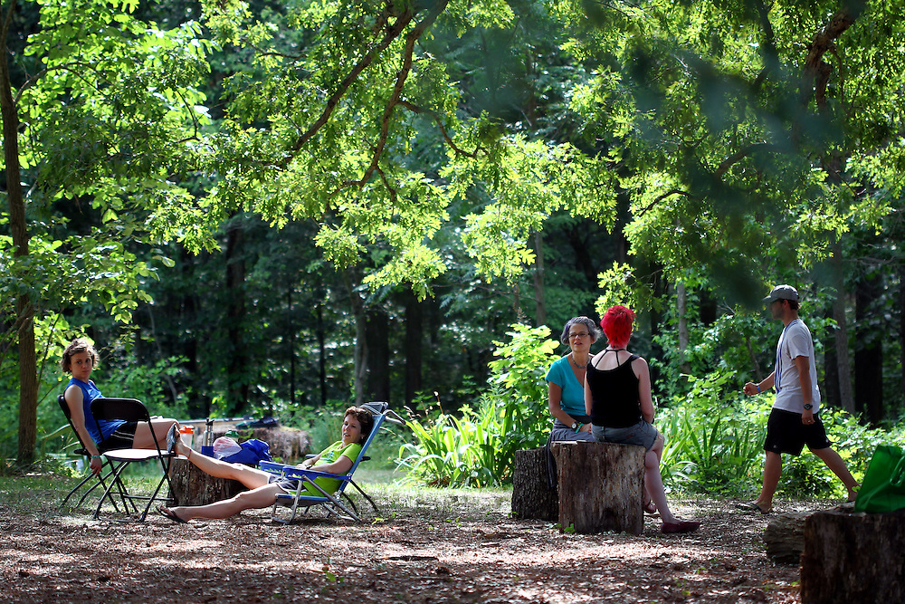 The Wild Goose Festival at Shakori Hills in North Carolina June 25, 2011.  (Photo by Courtney Perry)