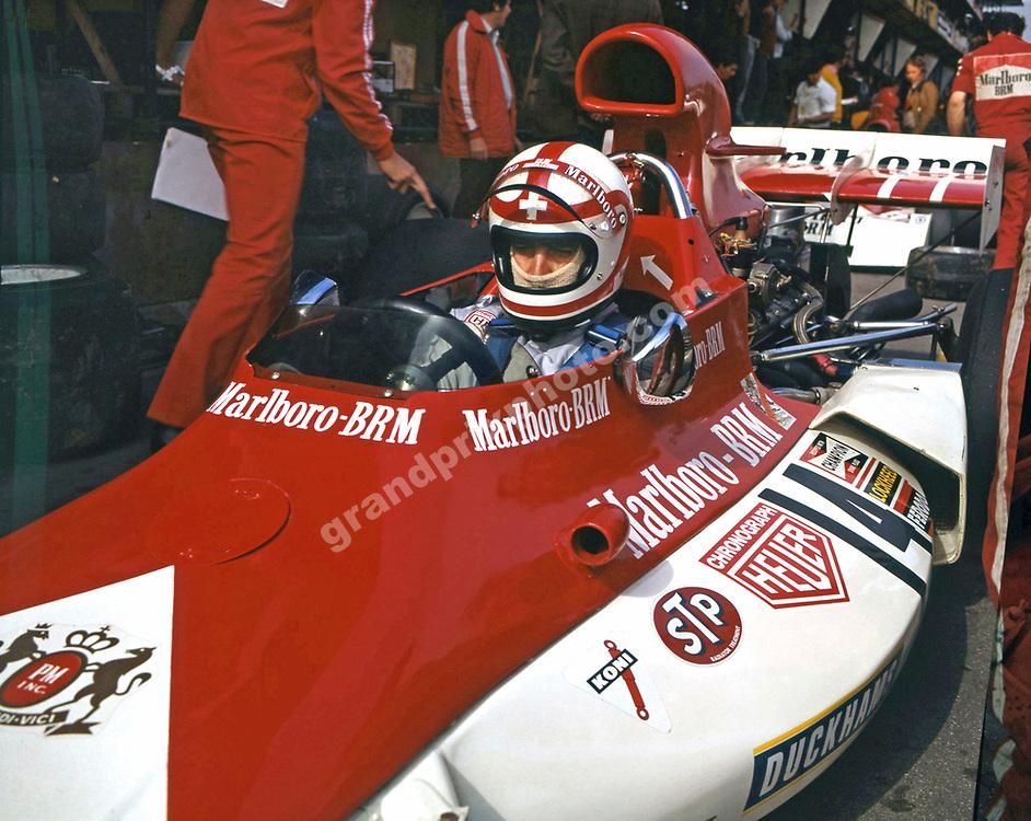 Clay Regazzoni in his BRM during the 1973 season. Photo: Grand Prix Photo