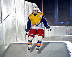 03-02-2012 SKATING: RED BULL CRASHED ICE WORLD CHAMPIONSHIP: VALKENBURG<br /> Matyas Krijt NED<br /> ©2012-FotoHoogendoorn.nl/Peter Schalk