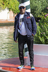 Spike Lee arrives to the Excelsior Hotel pier during the 75th Venice International Film Festival (Mostra) in Lido, Venice, Italy on August 30, 2018. Photo by Marco Piovanotto/ABACAPRESS.COM