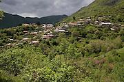 Greece, Epirus, Zagorohoria the village of Molivdoskepastis