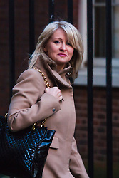Downing Street, London, January 20th 2015. Ministers attend the weekly cabinet meeting at Downing Street. PICTURED: Esther McVey MP<br /> Minister of State for Employment