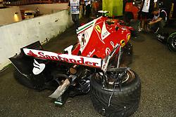September 17, 2017 - Singapore, Singapore - Motorsports: FIA Formula One World Championship 2017, Grand Prix of Singapore, ..car of #7 Kimi Raikkonen (FIN, Scuderia Ferrari) (Credit Image: © Hoch Zwei via ZUMA Wire)