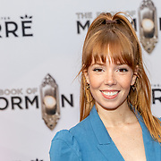 NLD/Amsterdam//20191003 - Première The Book of Mormda,. ,Emily Tongeren