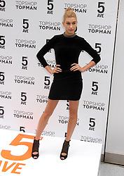 Nov. 5, 2014 - New York, New York, U.S. - Model HAILEY BALDWIN attends the Topshop Topman NYC Flagship Opening held the 49th Street and 5th Avenue location. (Credit Image: © Nancy Kaszerman/ZUMAPRESS.com)