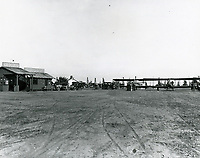 1921 Rogers Airfield, formerly Chaplin Airdrome, at Wilshire & Fairfax Blvds