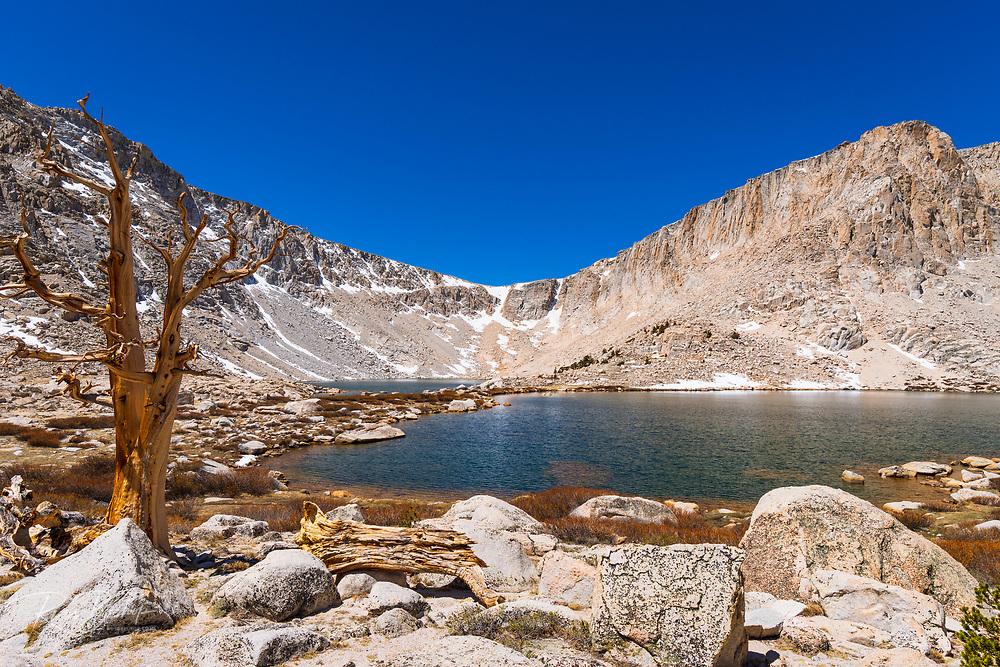 Army Pass above Cottonwood Lake #5, John Muir Wilderness, California USA