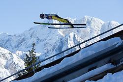 22.03.2013, Planica, Kranjska Gora, SLO, FIS Ski Sprung Weltcup, Skifliegen, 1. Wertungsdurchgang, im Bild Matjaz Pungertar (SLO) // Matjaz Pungertar of Slovenia in action during 1st round of the FIS Skijumping Worldcup Individual Flying Hill, Planica, Kranjska Gora, Slovenia on 2013/03/22. EXPA Pictures © 2012, PhotoCredit: EXPA/ Johann Groder