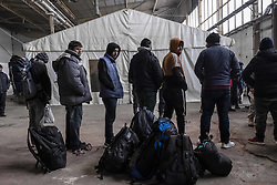 December 18, 2018 - Bihac, Bosanska Krajina, Bosnia - Hundreds of migrants are living in an old buildings in the cities of Bihac and Velika Kladusa. Every day they are trying to reach Europe and cross the Croatian border. The camps are managed by the IOM. Migrant claimed that Croatian police had beaten them, stolen their money and broken their phones. (Credit Image: © Matteo Trevisan/ZUMA Wire)