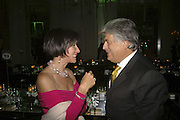 Mrs. Jennifer Greenbury and Vincenzo Morelli, Gala champagne reception and dinner in aid of CLIC Sargent.  Grosvenor House Art and Antiques Fair.  Grosvenor House. Park Lane. London. 15  June 2006. ONE TIME USE ONLY - DO NOT ARCHIVE  © Copyright Photograph by Dafydd Jones 66 Stockwell Park Rd. London SW9 0DA Tel 020 7733 0108 www.dafjones.com