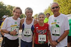 Joan Samuelson, Beach to Beacon 10K race founder , Joan Benoit Samuelson , Bill Rodgers , Olympic Gold Medalist Frank Shorter
