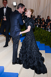 Michael Polish and Kate Bosworth arriving at The Metropolitan Museum of Art Costume Institute Benefit celebrating the opening of Rei Kawakubo / Comme des Garcons : Art of the In-Between held at The Metropolitan Museum of Art  in New York, NY, on May 1, 2017. (Photo by Anthony Behar) *** Please Use Credit from Credit Field ***