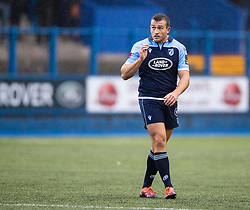 Garyn Smith of Cardiff Blues<br /> <br /> Photographer Simon King/Replay Images<br /> <br /> Guinness PRO14 Round 2 - Cardiff Blues v Edinburgh - Saturday 5th October 2019 -Cardiff Arms Park - Cardiff<br /> <br /> World Copyright © Replay Images . All rights reserved. info@replayimages.co.uk - http://replayimages.co.uk