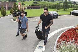 August 28, 2017 - ZüRich, Schweiz - Zürich, 28.08.2017, Fussball - Besammlung Schweizer Nationalmannschaft, Roman Bürki kommt zur Besammlung der Schweizer Nationalmannschaft. (Credit Image: © Melanie Duchene/EQ Images via ZUMA Press)
