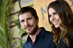 """Premiere Of Netflix's """"Mowgli"""". ArcLight Hollywood, Hollywood, California. 28 Nov 2018 Pictured: Christian Bale,Sibi Blazic. Photo credit: AXELLE/BAUER-GRIFFIN / MEGA TheMegaAgency.com +1 888 505 6342"""